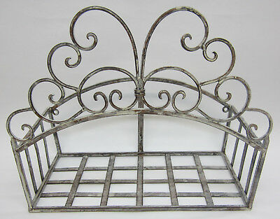 New French Provincial Garden Hose Holder Metal Rack To Hang Your Gardening Hose