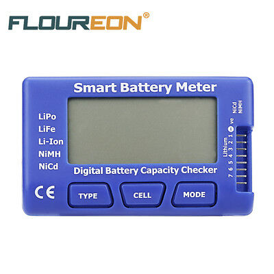 5 in 1 Digital Smart LiPo Battery Meter Balance Discharge ESC Servo PPM Tester