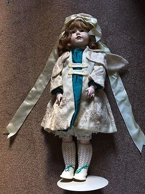 24 inch reproduction K*R Mein Leibling porcelain doll