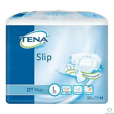 TENA Slip Plus - Large - Pack of 30