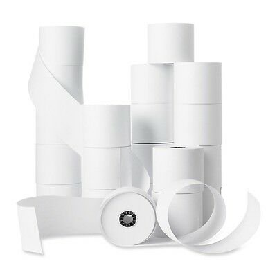 "Business Source Receipt Paper - 2.25"" x 150 ft - 100 / Carton - White"