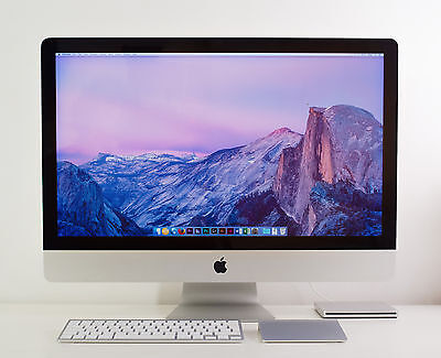 "iMac 27"" i5 2.66GHz 8Go RAM 256Go SSD 2To HDD + configuration"