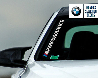 BMW MPerformance 2016 Side Windshield Decal windows sticker graphic