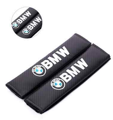 BMW Carbon Fiber Seat Belt covers x 2