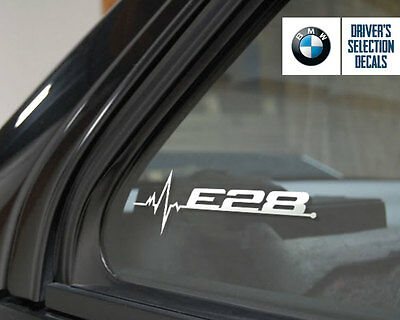BMW E28 is in my Blood window sticker decals graphic