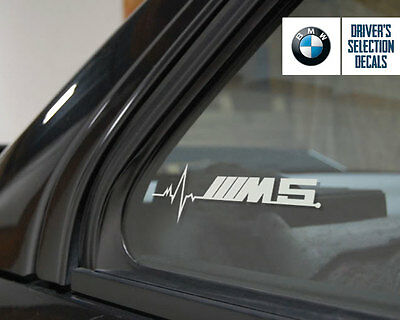 BMW M5 is in my Blood window sticker decals graphic