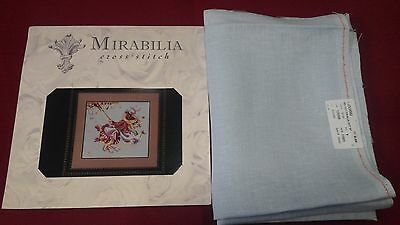 New unopened Touching the Autumn Sky  Mirabilia MD33 oop chart with Fabric.