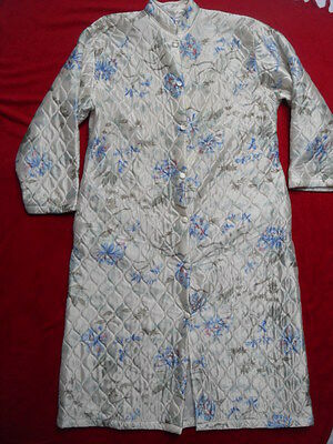 ORIGINAL 1960s/70s ABSTRACT FLORAL PATTERNED HOUSE COAT
