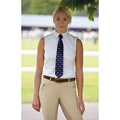 Shires Ladies Sleeveless Show Tie Shirt – 9983