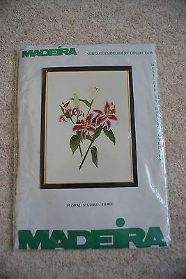 Embroidery Kit Lilies New Needle Lily