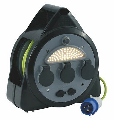 Outwell Roller Mains Kit with USB & LED