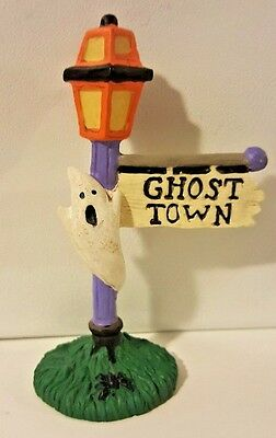 Midwest Cannon Falls Creepy Hollow Halloween Ghost Town Sign 3 5/8 Inch