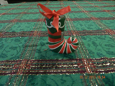 Ceramic Elf Boot Ornament - Macy's New with Tag