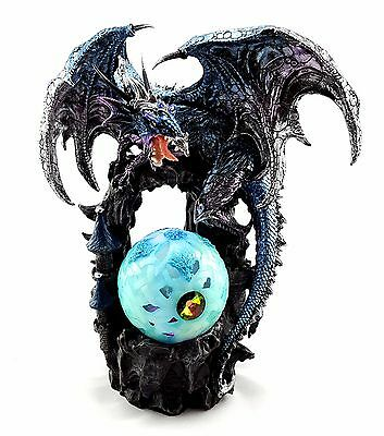 Dragon Light Up Sphere Led Lamp Statue Figurine Ornament Sculpture BIG *32 cm*