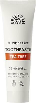 Urtekram Organic Tea Tree Toothpaste - 75ml