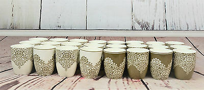 CLEARANCE Bulk Sale Ceramic Mugs Home & Office Art Deco Pattern RRP £130 40pcs