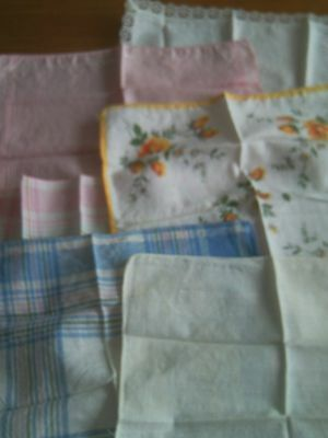 Collection Of Vintage Handkerchiefs