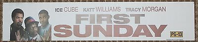 First Sunday, Large (5X25) Movie Theater Mylar Banner/Poster