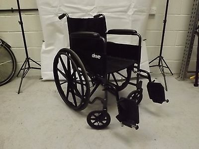 Drive S1 Medical Self Propelled Manual Wheelchair