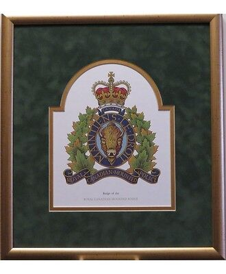 Royal Canadian Mounted Police Crest