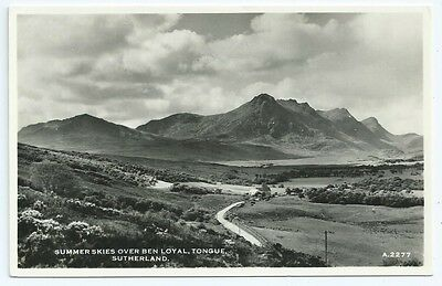 Vintage Postcard. RP. Ben Loyal, Tongue, Sutherland. Unused.  Ref:6.50