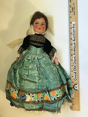 Antique French Doll La Poupee D'armor Made In Frane