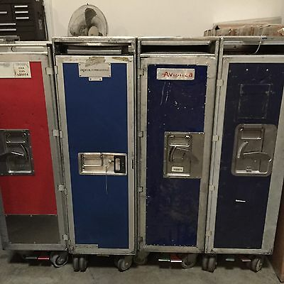 Aircraft Galley Cart Airplane Food Cart Service Trolley Bar & Beverage Carts