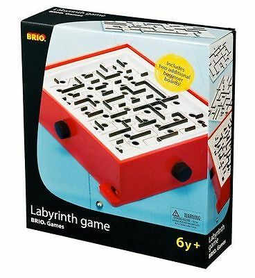 Brio B34020 Wooden Labyrinth With Extra Boards - New, Sealed