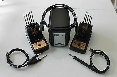 OK International MFR-2241 Dual Output Soldering/Rework System w/ Tweezers