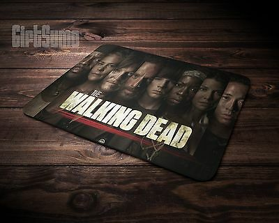 Gaming Mouse Mat - PC - Laptop Laser Mouse - The Walking Dead TV Show - Fan Gift