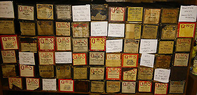 Lot Of 66 Assorted Qrs Us Pianostyle Weile Player Piano Rolls
