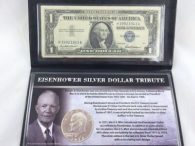 Collectibles Eisenhower Silver Dollar Tribute
