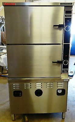Market Forge Plus-24 M360300A Double Convection Steamer- Natural Gas
