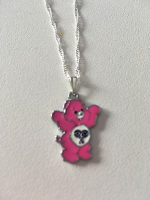 Care Bears Child's Necklace, Hot Pink, Small