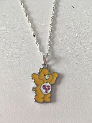 Care Bears Child's Necklace, Yellow Small