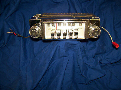1962 Chrysler Golden Tone Am Radio With Original Knobs Model #303 Working