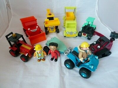 Bob The Builder Bundle Of Vehicles And Figures