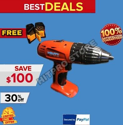 Hilti Sf 121-A Drill Driver, Preowned, Bare Tool, Free Set Of Bits, Fast Ship