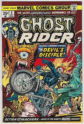 Ghost Rider #8 VF-NM 9.0 The Devil's Disciple Jim Mooney Art!