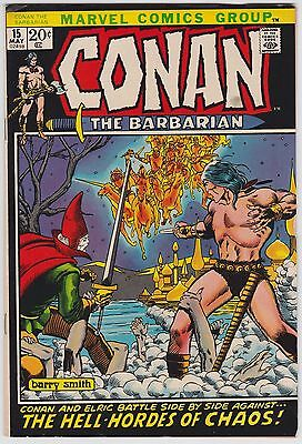 Conan The Barbarian #15 F-VF 7.0 Elric Barry Smith Art!