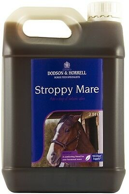 Dodson & Horrell Stroppy Mare Liquid For Horses And Ponies 1LT, 2.5LT, 5LT