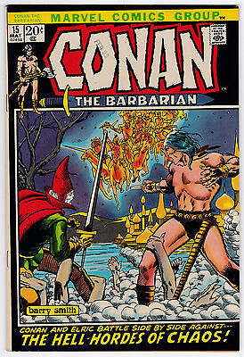 Conan The Barbarian #15 VF-NM 9.0 Barry Smith Art Second Elric!