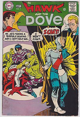 Hawk And The Dove #1 VG 4.0 Steve Ditko Art First Issue!