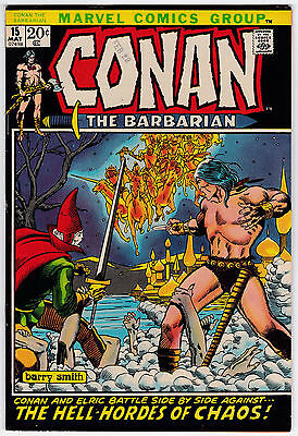 Conan The Barbarian #15 VF- 7.5 Barry Smith Art Second Elric!