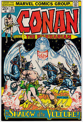 Conan The Barbarian #22 VF 8.0 Shadow Of The Vulture Barry Smith Art!