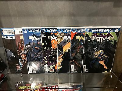 Batman Rebirth One-Shot + #1 2 3 4 5 6 7 8 9 10 11 12 + Annual Complete Set Nm