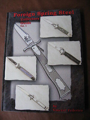 "Rare Knife Book ""FOREIGN SPRING STEEL"" Switchblade Knives"