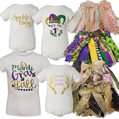 Mardi Gras, Hunting, & More - Baby & Toddler Girl's One-Pieces, Tees, & Tutus