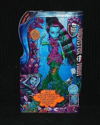 Monster High - Posea Reef - Doll Great Scarrier Reef Brand NEW & SEALED!!