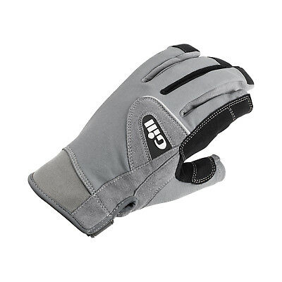 Gill Deckhand Long Finger Sailing Gloves 2017 - Grey